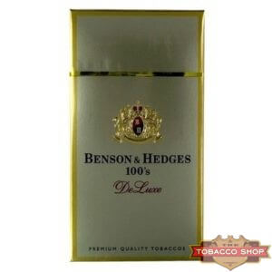 Пачка сигарет Benson & Hedges 100's DeLuxe USA