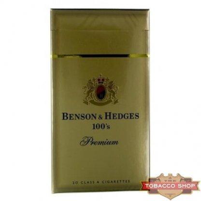 Пачка сигарет Benson & Hedges 100's Premium USA