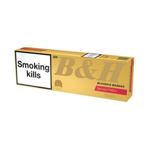 Блок сигарет Benson & Hedges Special Filter Duty Free