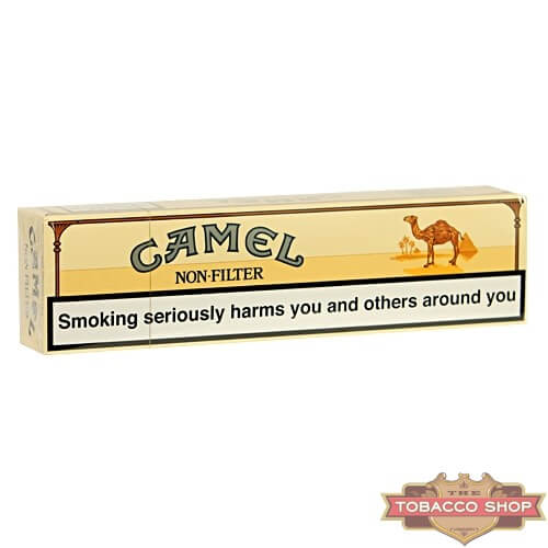 Блок сигарет Camel Regular Non Filter Duty Free