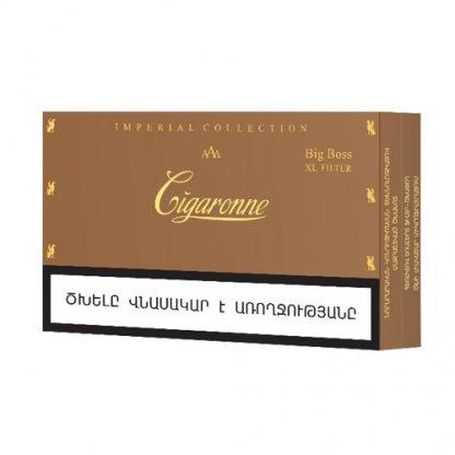 Пачка сигарет Cigaronne Big Boss Slims XL Filter 120mm