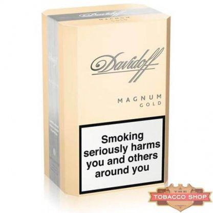 Блок сигарет Davidoff Magnum Gold Duty Free
