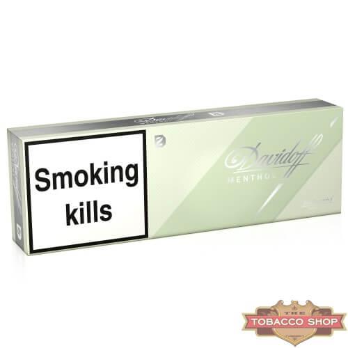 Блок сигарет Davidoff Menthol Duty Free