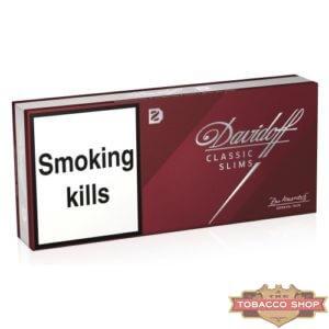 Блок сигарет Davidoff Slims Classic Duty Free