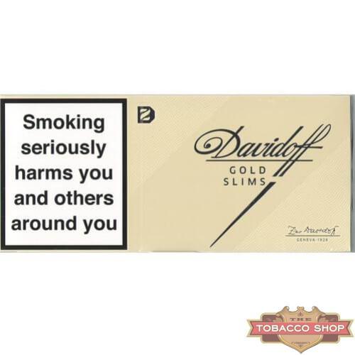Блок сигарет Davidoff Slims Gold Duty Free