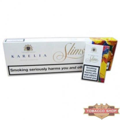 Блок сигарет Karelia Slims Duty Free - старый дизайн