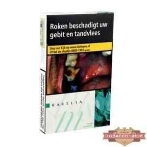 Пачка сигарет Karelia Slims Menthol Duty Free - новый дизайн