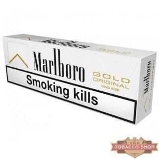 Блок сигарет Marlboro Gold Duty Free