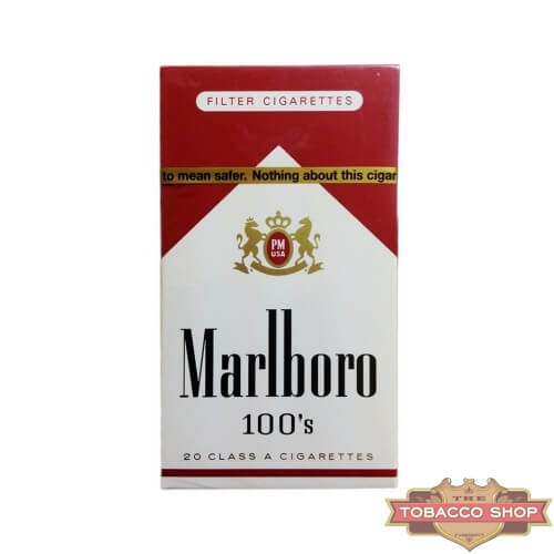 Пачка сигарет Marlboro Red 100's USA