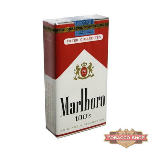 Пачка сигарет Marlboro Red 100's Soft USA