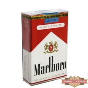 Пачка сигарет Marlboro Red Soft USA