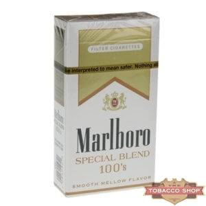 Пачка сигарет Marlboro Gold Special Blend 100's USA