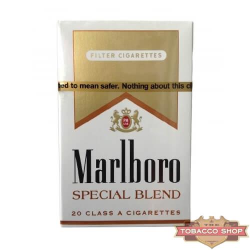 Пачка сигарет Marlboro Gold Special Blend USA