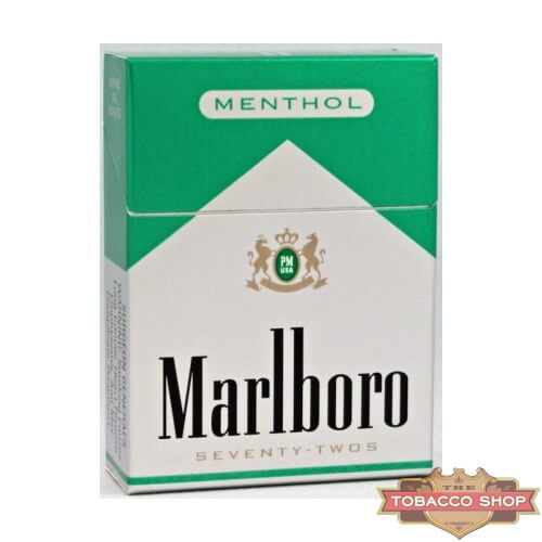 Пачка сигарет Marlboro Menthol 72's USA