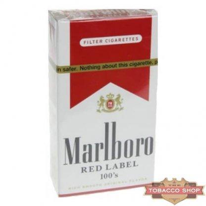 Пачка сигарет Marlboro Red Label (Medium) 100's USA