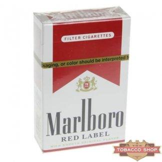 Пачка сигарет Marlboro Red Label (Medium) USA (DUTY FREE)