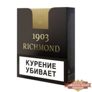 Пачка сигарет Richmond 1903