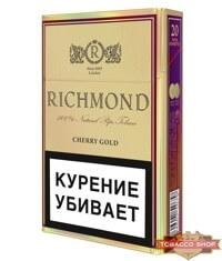 Пачка сигарет Richmond Cherry Gold