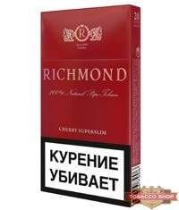 Пачка сигарет Richmond Cherry Superslim