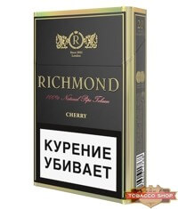 Пачка сигарет Richmond Cherry
