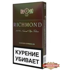 Пачка сигарет Richmond Coffee Superslim