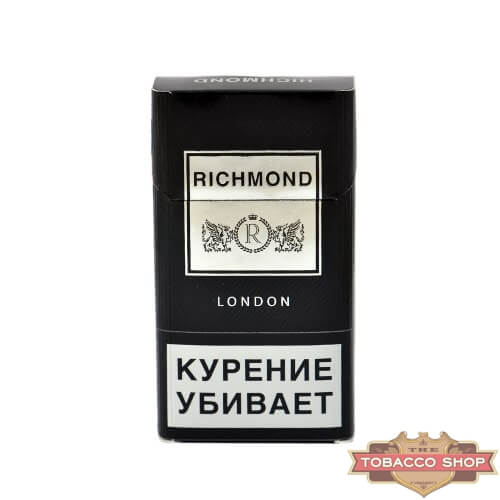 Пачка сигарет Richmond London