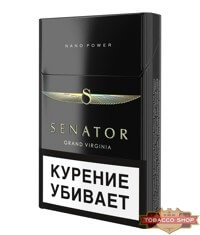 Пачка сигарет Senator Grand Virginia Nano Power