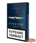 Пачка сигарет Senator Prime (Winegrape Nano Power) - старый дизайн