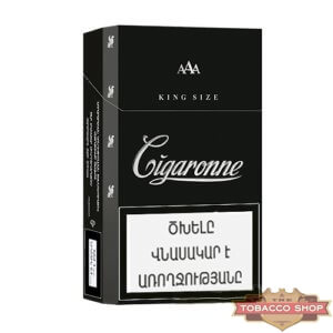 Пачка сигарет Cigaronne King Size Black