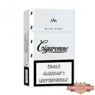 Пачка сигарет Cigaronne King Size White