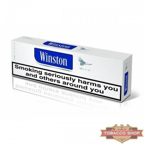 Блок сигарет Winston Blue (50 пачек) Duty Free