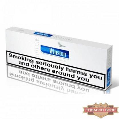 Блок сигарет Winston SuperSlims Blue (50 пачек) Duty Free
