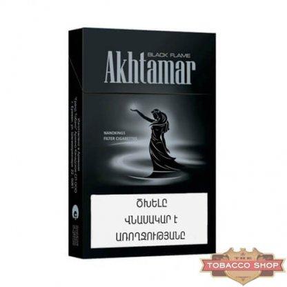 Пачка сигарет Akhtamar Black Flame Nanokings