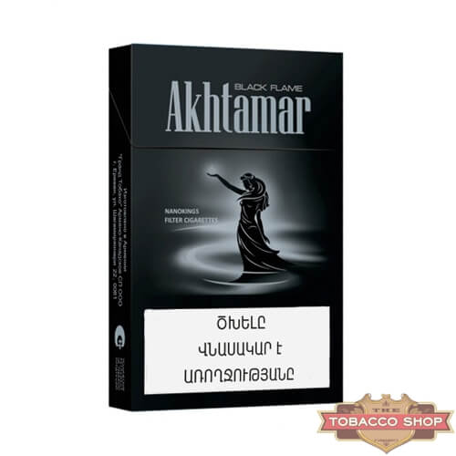 Пачка сигарет Akhtamar Black Flame Nanokings