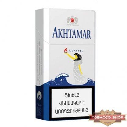Пачка сигарет Akhtamar Classic 100mm