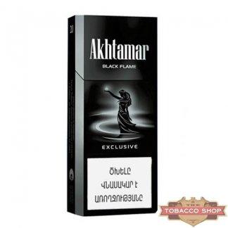Пачка сигарет Akhtamar Exclusive Black Flame 115mm