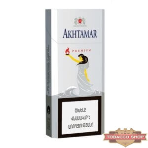 Пачка сигарет Akhtamar Premium Slims 100mm