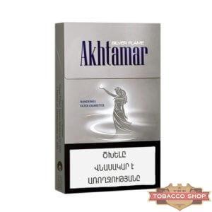 Пачка сигарет Akhtamar Silver Flame Nanokings
