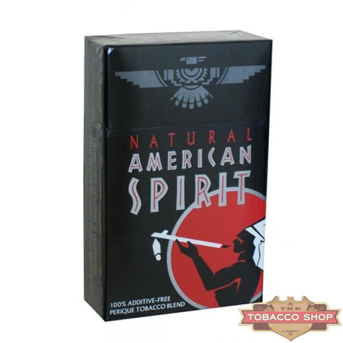 Пачка сигарет American Spirit Black USA