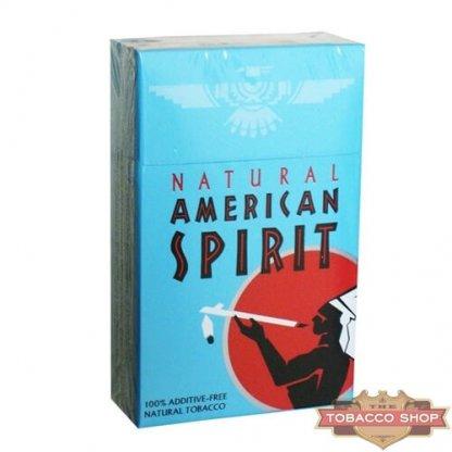 Пачка сигарет American Spirit Blue USA