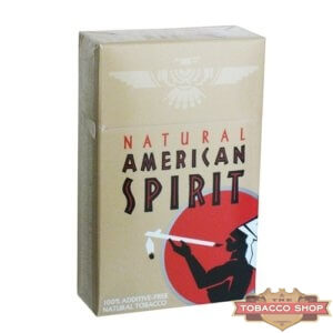 Пачка сигарет American Spirit Brown USA