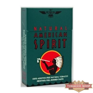 Пачка сигарет American Spirit Dark Green USA