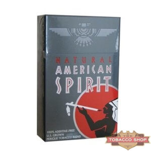 Пачка сигарет American Spirit Gray USA