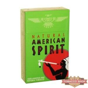 Пачка сигарет American Spirit Green USA