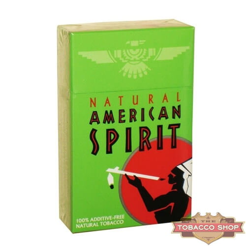 Пачка сигарет American Spirit Green USA