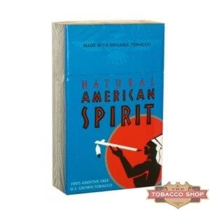 Пачка сигарет American Spirit Turquoise USA  (1 пачка)