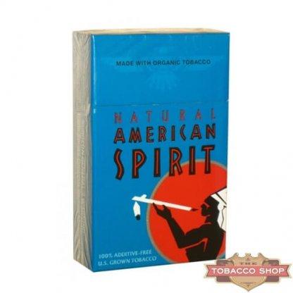 Пачка сигарет American Spirit Turquoise USA
