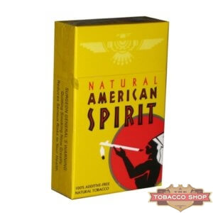 Пачка сигарет American Spirit Yellow USA