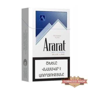 Пачка сигарет Ararat Blue Line