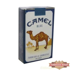 Пачка сигарет Camel Blue USA - новый дизайн